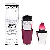 Lancome Juicy Shaker Pigment Infused Bi-Phase Oil Pink Lip Gloss Berry In Love