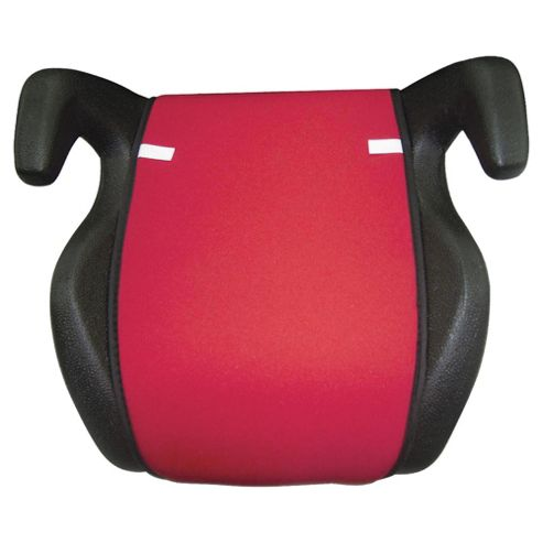 Tesco My Baby Car Booster Seat Red/Black