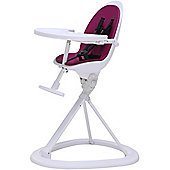 ickle bubba Orb Highchair (White/Purple)