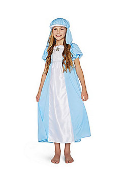 F&F Mary Nativity Costume with Headdress - Blue