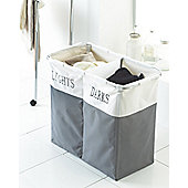Country Club Lights & Darks Laundry Hamper