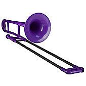 pBone Plastic Trombone - Purple