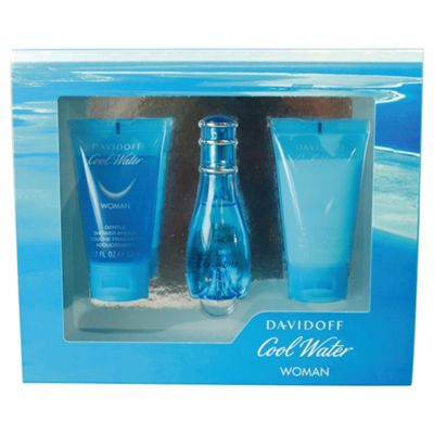 Davidoff Coolwater Women 30ml Eau de Toilette Gift Set