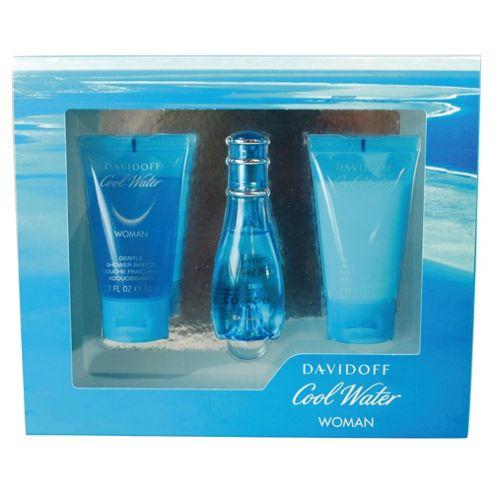 Davidoff Coolwater Women 30ml Eau de Toilette Gift Set