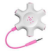 Belkin MixIt Range Rockstar Headphone Splitter in Pink