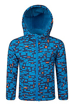 Mountain Warehouse Arctic Printed Kids Softshell Jacket ( Size: 5-6 yrs )
