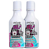 Duo Help Detoxifying and Reparative Hair Care System (250ml x 2) - Inoar
