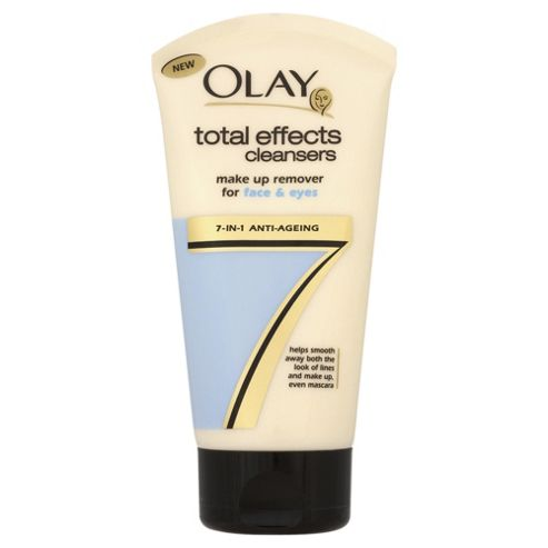 Olay Total Effects Make Up Remover Face/Eyes 150Ml