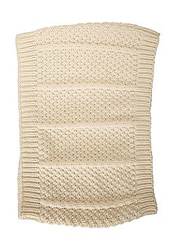 Mountain Warehouse Alaska Knitted Womens Snood Warm and Soft with Versatile - Cream