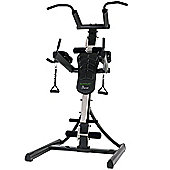 Tunturi Pure Power Tower Home Gym with Adjustable Dip Station