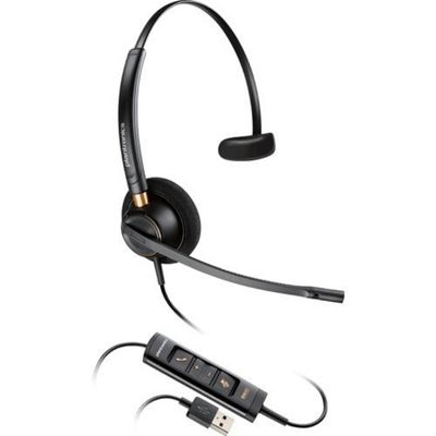Plantronics ENCOREPRO HW515 Monaural Head-band Black headset