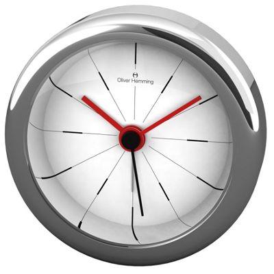 Oliver Hemming Alloy Desire Alarm Clock - 5.8cm