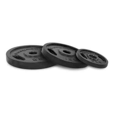 Bodymax Olympic Cast Iron Weight Plates - 8 x 1.25kg