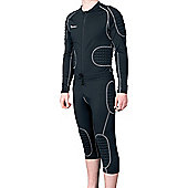 Precision Gk Padded Baselayer All In One Suit - Black