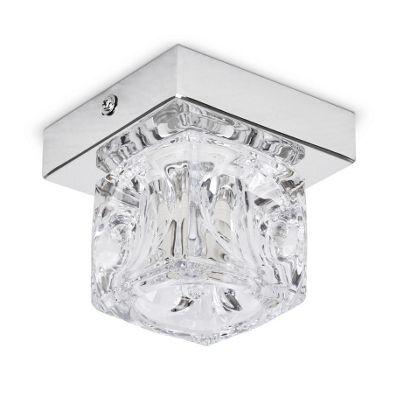 Buy ritz single ice cube ceiling light chrome from our kids ritz single ice cube ceiling light chrome aloadofball Choice Image