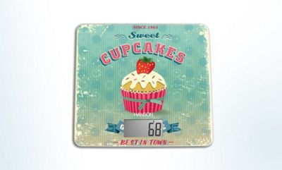 Hanson Cupcake Designed Kitchen Scale, 5kg