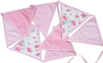 Bedroom Bunting - Pink