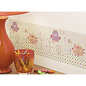 Lollipop Lane Prickles and Twoo Wallpaper Border