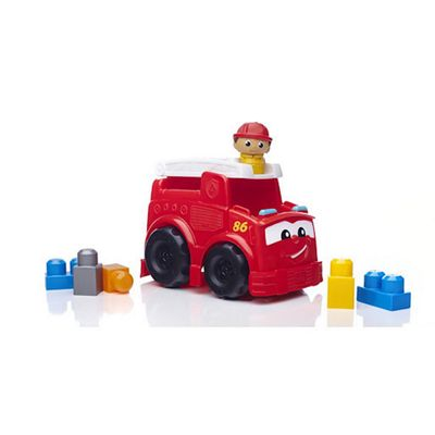 Mega Bloks First Builders Fire Truck Freddy