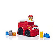 Mega Bloks First Builders Fire Truck Freddy