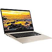 "ASUS VIVOBOOK 15.6"" Intel Core i5 8GB RAM 256GB SSD Windows 10 Slim Laptop Gold"