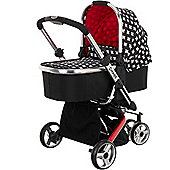 OBaby Chase 2in1 Stroller & Carrycot (Crossfire)