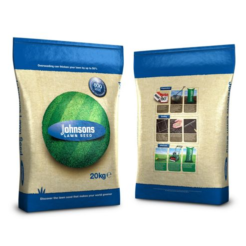 Johnsons All Weather Lawn Grass Seed 20 kg