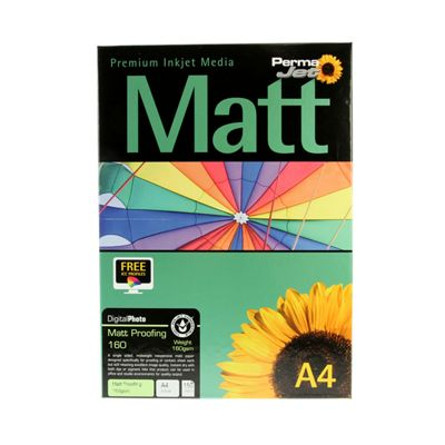 A4 PermaJet Digital Photo Paper Matt Proofing - 160gsm - 150pk