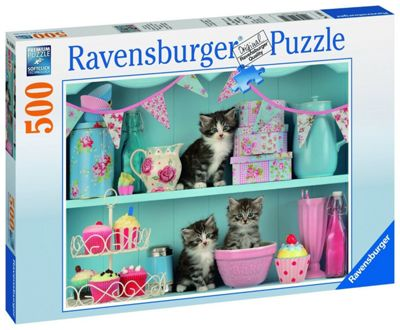 Kittens and Cupcakes - 500pc Puzzle