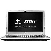 "MSI PL60 15.6"" Intel Core i5 GeForce GTX 1050 4GB RAM 128GB SSD Windows 10 Pro Laptop Silver"