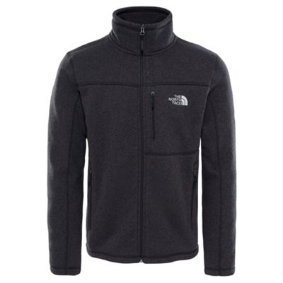 The North Face Mens Gordon Lyons Full Zip Fleece TNF Black M