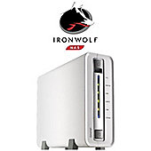 QNAP TS-112P/3TB-IW 1-bay 3TB (1x3TB Seagate IronWolf) Network Attached Storage