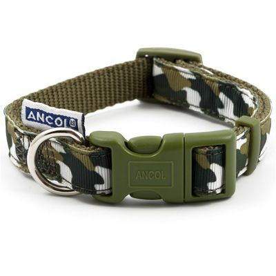 Ancol Green Combat Collar - 1-2
