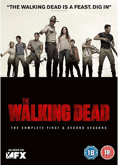 Walking Dead Season 1-2 (DVD Boxset)