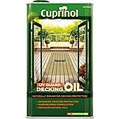 Cuprinol UV Guard Decking Oil - Natural - 5 Litre