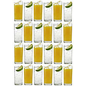 Argon Tableware Traditional Hiball Glasses - 285ml (10oz) Party Pack Of 24