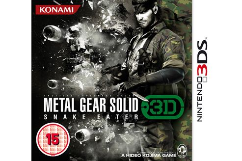 Metal Gear Solid Snake Eater 3DS