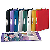 Elba Ring Binder Heavyweight PVC 2 O-Ring Size 25mm [Pack 10]