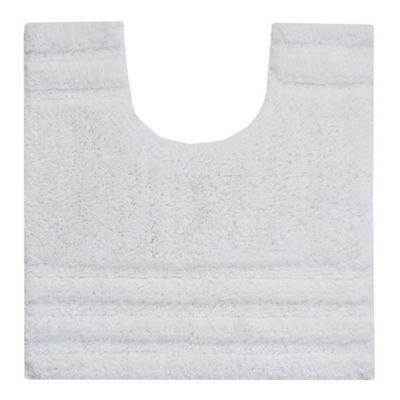Homescapes Spa Supreme Luxury White Pedestal Mat
