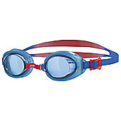 Zoggs Hydro Junior Kids Swimming Goggles Blue/Red