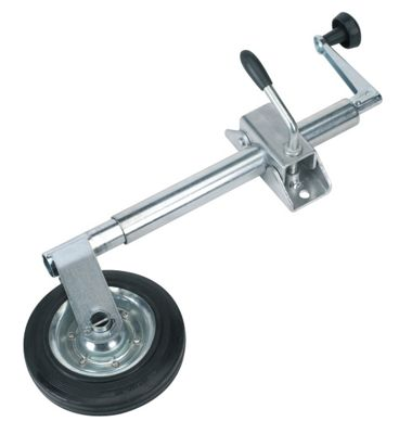 Sealey TB371 - Jockey Wheel & Clamp ?35mm - 150mm Solid Wheel