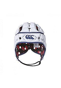 Canterbury Ventilator Headguard - Bright White - White