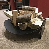 Made O'Metal Large Oval Dish Log Store