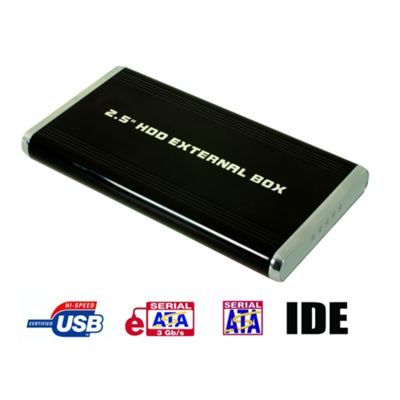 Maplin 2.5-Inch SATA / IDE Hard Drive eSATA / USB Enclosure