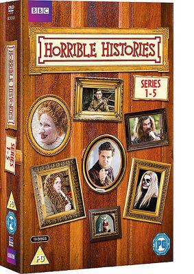 Horrible Histories - Series 1-5 (DVD Boxset)