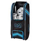 Gunn & Moore Original Wheelie Duffle Cricket Backpack Bag Black / Blue (4177)