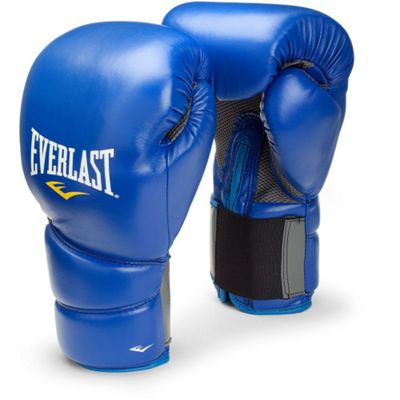 Everlast Protex 2 Training Gloves Blue - 14oz