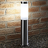 Auraglow IP44 Stainless Steel Outdoor Garden Post Light - Cool White - Rushmoor