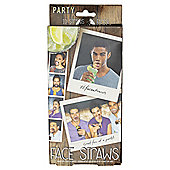 Face Straws Photo Booth Props