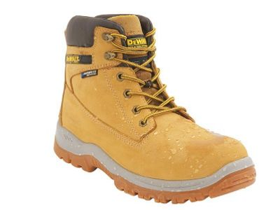 DeWALT Mens Titanium Safety Boots Honey 10 UK, 44 EU Regular